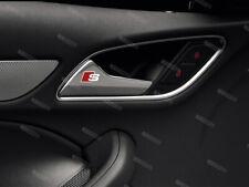 6 x Audi S-line Aufkleber für Türgriff A1 A3 A4 A5 A6 A7 A8 RS TT Q5 Q7 #3
