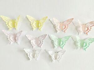 Butterfly Papercraft Embellishments Scrapbooking Butterflies Card Making Crafts