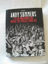 Signed! Andy Summers I'll Be Watching You Inside The Police 1980-83 Taschen Hcdj