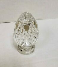 Vintage Bleikristall 24% Lead Crystal Decorative Egg Paperweight Made in Germany