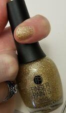 NEW! FingerPaints Nail OH MY GAUCHE - Finger Paints polish Gold Shimmer