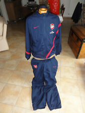 Ensemble Survêtement Arsenal NIKE FLY EMIRATE TAILLE M  BLEU FONCE FOOTBALL