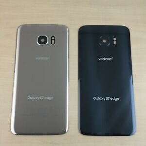 ✅Genuine Samsung Galaxy S7 edge (Verizon) Battery Cover Glass Housing Rear Back