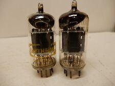 Japanese 12Au7 Short Gray Plate Vacuum Tubes Amplitrex Tested 77/81% & 86/100%