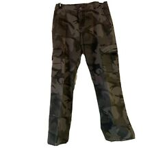 Wrangler Boy's Size 16 Regular Camo Cargo Pants Adjustable Waistband