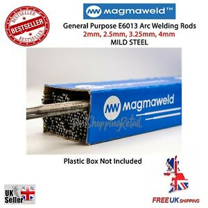 MAGMAWELD E6013 Arc Welding Electrodes Rods 2.0-4.0mm 5-100 Rods General Purpose