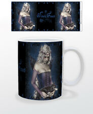 VICTORIA FRANCES-ANGEL OF DEATH 11 OZ COFFEE MUG GOTHIC ART ILLUSTRATOR COMICON!