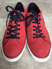 Converse All Star 129075C Leather Casual Shoe Red/White Sz Men's 12 Women's 13.5
