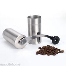 acier inoxydable céramique BAVURE portable Manivelle manuelle Moulin à café
