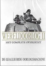 Wereld Oorlog 2  - 17 dvd's uit de serie Het Complete Overzicht - new in seald
