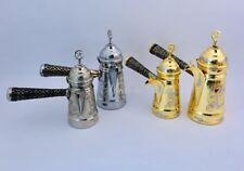 Brass copper authentic Dallah Arabic coffee pot مصب قهوه عربيه