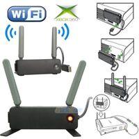 2 x WiFi USB Adapter Dual Wireless N Network Net Internet For Microsoft XBOX 360