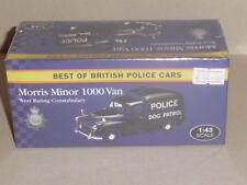 BEST OF BRITISH POLICE CARS, MORRIS MINOR 1000  POLICE VANGUARD CASTINGS JA04
