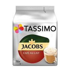 TASSIMO - German JACOBS CAFÈ AU LAIT - 16 t-discs - FREE SHIPPING