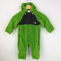 The North Face Infant Bay 6 12 Months Plushee Bunting Bag Snowsuit Green