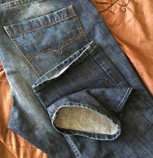 Superb Diesel Braddom Regular Slim Carrot Denim Jeans. 36W x 32L. (T969)