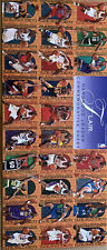 1995-96 Fleer Flair Hardwood Leader 27Card Uncut Sheet - Includes Michael Jordan