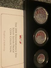More details for jubilee mint 2018 remembrance day solid silver proof coin collection. only 499