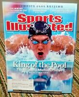 Sports Illustrated August 2008 Michael Phelps Olympics Beijing