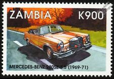 1969-1971 MERCEDES-BENZ 280SE 3.5L Classic Car Stamp