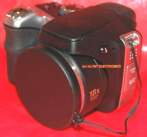 SLIP-ON FRONT LENS CAP DIRECT TO CAMERA CANON SX430 SX420 SX410 SX400 IS +HOLDER