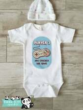 Player 3 Gamer Onesies  - Gamer Funny Baby Onesies - Boy Clothes Shower Gift