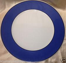 """WINTERLING BAVARIA DOPPIO WIG1308 12"""" CHOP PLATE ROUND PLATTER BLUE RIM"""