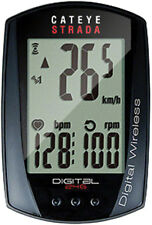 New CatEye Strada Digital Wireless Speed/Heart Rate/Cadence Wireless Cycling