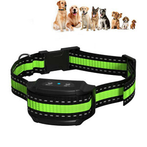 Ultrasonic Stop Bark Dog Training Collar Device Control Sound Electronic Acces