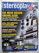 STEREOPLAY 4/05,HGP MANDOLA SUPERTECH,AUDIO PHYSIC TEMPO,BC ACOUSTIQUE ACT A 2