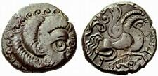 Coriosolites Gaul Tribes 50-80 BC Billion Stater,  ARMORICA,  Ancient Coin 6.54g