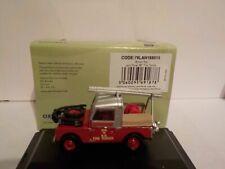 Land Rover, Fire Tender, British rail, Oxford Diecast 1/76 New Dublo, Railway Sc