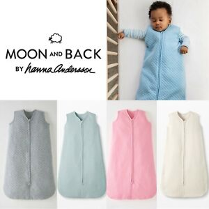 New 100% Organic Cotton Baby Boys Girls Unisex Quilted Sleeping Grow Bag 1.0 Tog