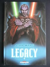 STAR WARS LEGACY tome 10 GUERRE TOTALE DELCOURT  EO BE