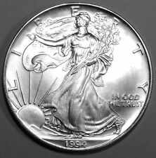 1994 American Silver Eagle - Brilliant and beautiful  uncirculated  coin