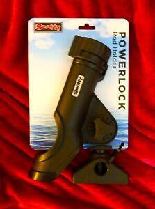 Scotty Powerlock Rod Holder 230 With 241 Mount,universal Cradle,Fibre Reinforced