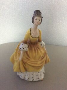 Royal Doulton - Bone China Figurine - Coralie HN2307 - 1963 Lovely Condition