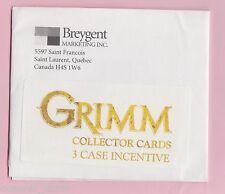 Grimm Season 1 Collector Cards 3 Case Incentive Sketch Card in Envelope