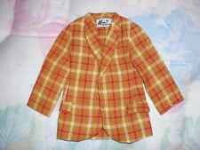 """Ken & Brad""""Bold Gold"""" Barbie Mod Vintage #1436 Jacket"""