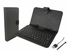 "Supersonic SC-107KB Keyboard Case Set  7"" tablet Stylus Pen & USB Charging Cable"