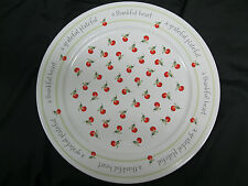 Hallmark Treat Cookie Plate 12 Inch Diameter A Thankful Heart - Never Used