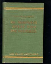 LIVRE ANCIEN : ENFANTS : UN MANUSCRIT TROUVE DANS UNE BOUTEILLE 1931