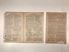 Antique Berean Leaf Bible Lesson Help 1881 Cincinnati Ohio~Vincent