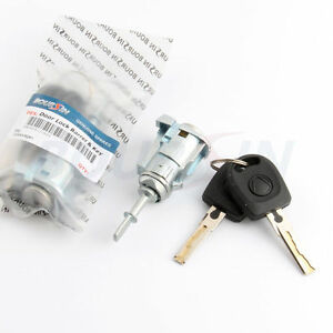Front Left Door Lock Cylinder Key For VW Volkswagen Golf Jetta Polo MK4 Bora
