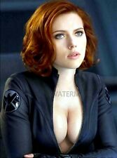 AMAZING BLACK WIDOW IN AVENGERS COSTUME PUBLICITY PHOTO