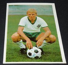 WERNER GÜRTS WERDER BREMEN FUSSBALL 1966 1967 FOOTBALL CARD BUNDESLIGA PANINI