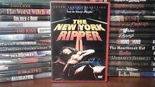 New York Ripper (DVD, 1982) Rare OOP