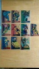 1995 Fleer X Men Ultra Complete 10 Card Suspended Animation Chase Set Nm/Mint