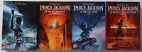 LOT de 4 LIVRES PERCY JACKSON Tome 1 à 4  Rick Riordan LE LIVRE DE POCHE FICTION