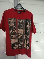 TAPOUT MMA MIXED MARTIAL ARTS VINTAGE TSHIRT MENS BURGUNDY RED SIZE LARGE L